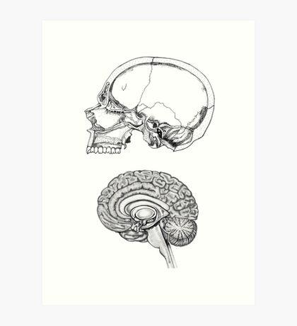 Flesh and Bone Art Print