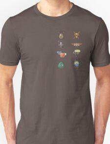 The Kalos Gym Badges T-Shirt