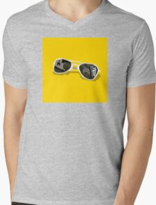 Sunglasses Mens V-Neck T-Shirt