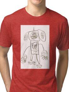 Dogbot Mech by Roo8rz Tri-blend T-Shirt