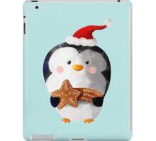 Cute Christmas Penguin iPad Case/Skin
