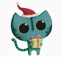 Cute Christmas Cat Kids Clothes