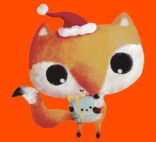 Cute Christmas Fox Kids Clothes