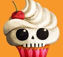 Delicious Skull Cupcake by colonelle