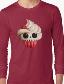 Delicious Skull Cupcake Long Sleeve T-Shirt