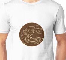 Hand Shaping Pottery Clay Etching Unisex T-Shirt