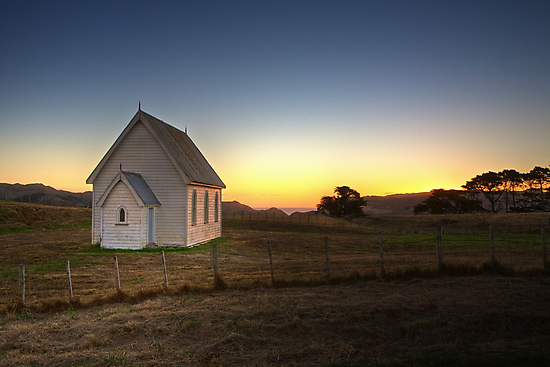 Tranquil Sunset by Peter Denniston
