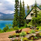 Emerald Lake Yoho National Park by Teresa Zieba