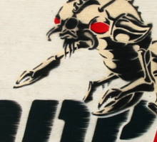 ONE mighty ant Sticker