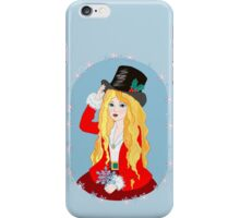 Christmas Top Hat iPhone Case/Skin