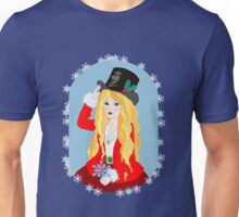 Christmas Top Hat Unisex T-Shirt