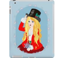 Christmas Top Hat iPad Case/Skin