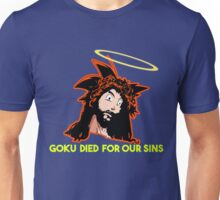GOKU DIED FOR OUR SINS Unisex T-Shirt