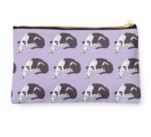 Lazy Daisy Greyhound Pattern Studio Pouch