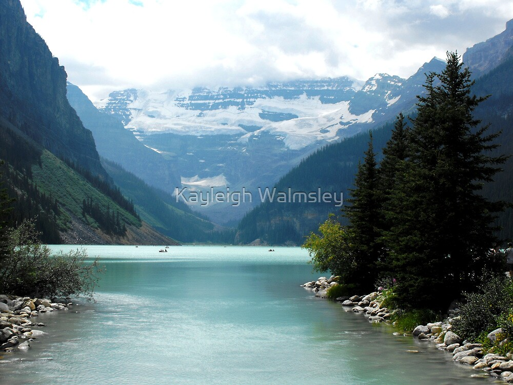 Lake Louise by Kayleigh Walmsley