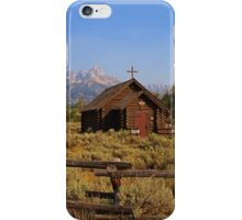 Chapel of the Transfiguration iPhone Case/Skin
