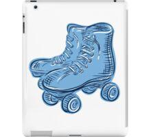 Roller Skates Vintage Etching iPad Case/Skin