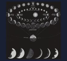 The Moon Phases  Kids Clothes
