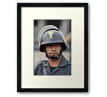 Presidential Guard, Peru - Lima Framed Print