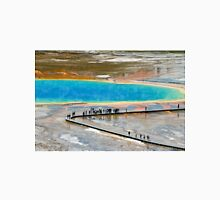 Grand Prismatic Spring, Yellowstone NP Long Sleeve T-Shirt