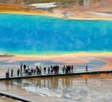 Grand Prismatic Spring, Yellowstone NP Sticker