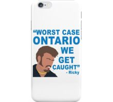Worst Case Ontario Boys iPhone Case/Skin