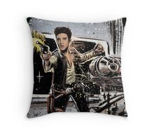 Elvis Han Solo Collage Art Home Decor, Elvis Presley, Star Wars, Harrison Ford, Millenium Falcon, Death Star Throw Pillow