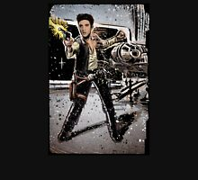 Elvis Han Solo Collage Art Home Decor, Elvis Presley, Star Wars, Harrison Ford, Millenium Falcon, Death Star Unisex T-Shirt