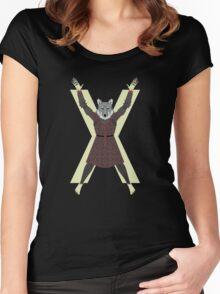 Poor King Robb Stark Women's Fitted Scoop T-Shirt
