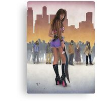 Zombie Slayer Canvas Print