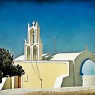 Church on Santorini by Teresa Zieba