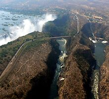 Victoria Falls and Zambezi Gorge by Graeme  Hyde