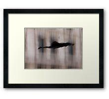 Photo of Sherlock Falling Framed Print