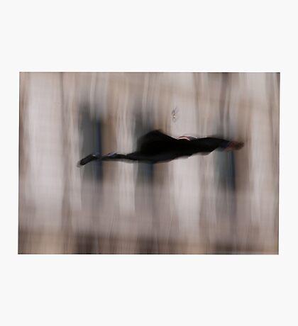 Photo of Sherlock Falling Photographic Print