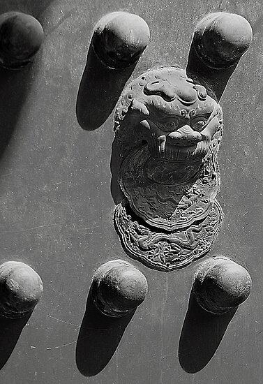 Forbidden Entry - Forbidden City - Beijing by Mark Bolton