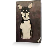 Diego Puppy Dog Greeting Card