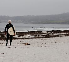 White Haired Surfer Dude by ScottPhotos