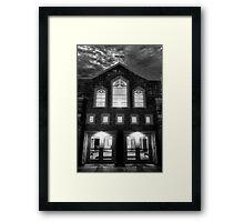 Spooky Church Framed Print