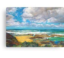 Craypot Bay Canvas Print