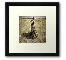 One Good Shot  - Thats All I Need. Framed Print