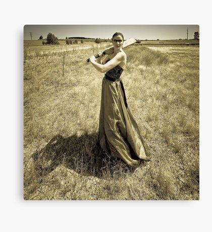 One Good Shot  - Thats All I Need. Canvas Print