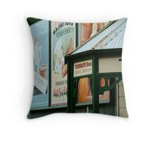 Walhalla Merchants Throw Pillow