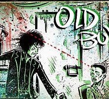 Oldboy Art illustration, drawing, chan wook park, joe badon, korean, film, movie by Joe Badon