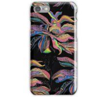 Crayon Plantain Pattern(large) iPhone Case/Skin