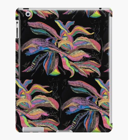 Crayon Plantain Pattern(large) iPad Case/Skin