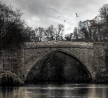 Old 'Brig of Don' Aberdeen by Mark Mair