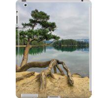 Lac Beauvert, Jasper National Park iPad Case/Skin