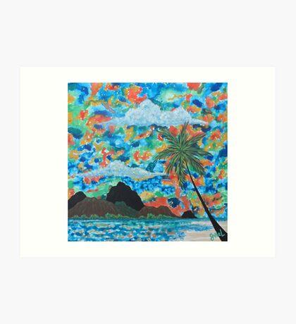 """Paradise View"" Art Print"