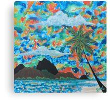 """""""Paradise View"""" Canvas Print"""