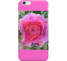 Angels Pink Rose of Faith iPhone Case/Skin